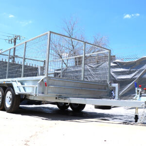 10x5 Tandem Axle Galvanised Cage Trailer for Sale Townsville