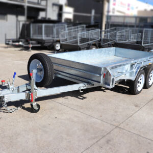 10x5 Tandem Axle Galvanised Box Trailer for Sale in Townsville