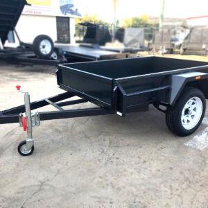 6x4 Single Axle Commercial Heavy Duty Box Trailer for Sale in Townsville