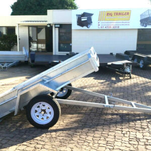 7x5 Single Axle Galvanised Box Trailer for Sele in Townsville