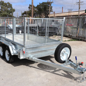 8x5 Tandem Axle Galvanised Cage Trailer for Sale in Townsville