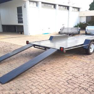 Semi Flat Top Car Carrier 2800KG GVM Townsville