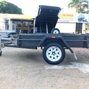 Single Axle Heavy Duty Box Trailer for Sale Townsville